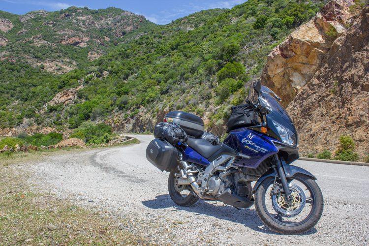 De Bastia à Ota-Porto à moto